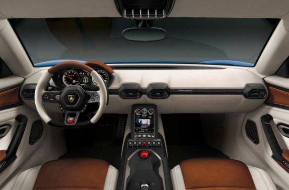 2019 Lamborghini Asterion Interior