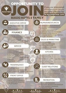 Rixos Hotels Opportunities - Egypt