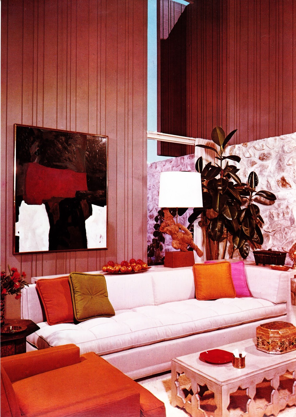 1960s Interior Dcor The Decade of Psychedelia Gave Rise