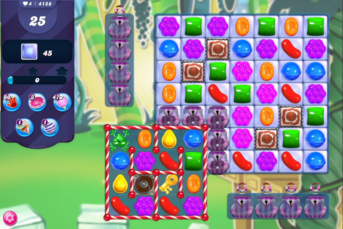 Candy Crush Saga level 4128