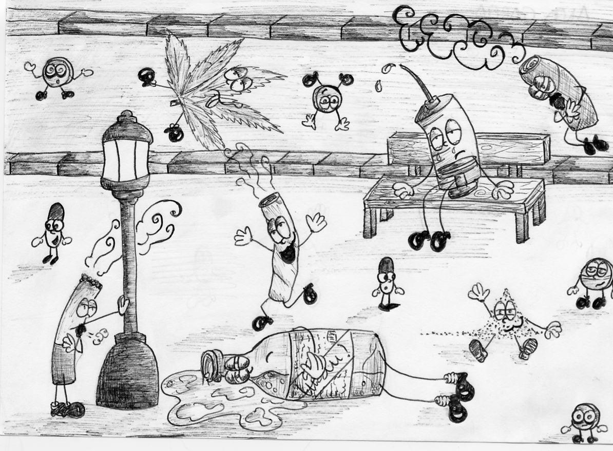 Artistas Del IES Pedro De Tolosa: Prevención Del Consumo