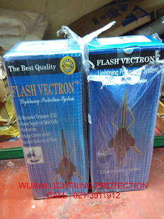 TOKO Jual FLASH Vectron Cileungsi ~ Jasa PASANG Penangkal Petir