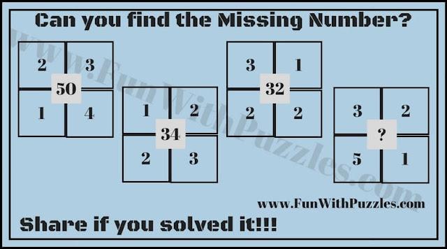 Number Maths Brain Teaser for Kids