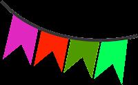 Bandeirinha festa junina