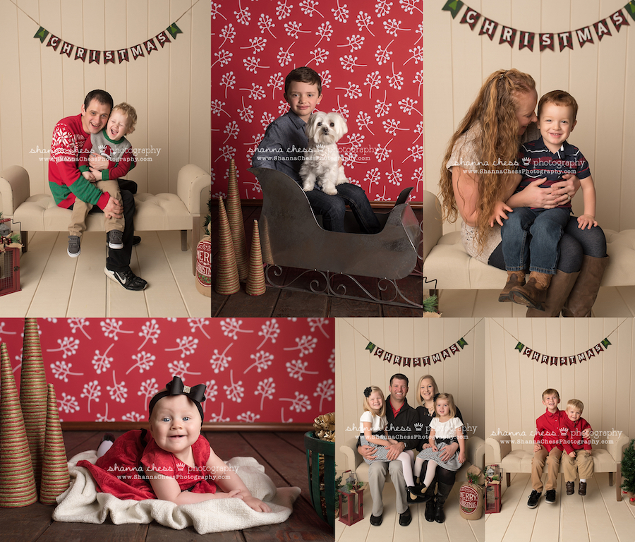 eugene oregon baby photographer christmas