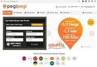 Pengalaman Cari dan Pesan Booking Tiket Pesawat Promo Harga Murah Online Lewat Situs PegiPegi.com