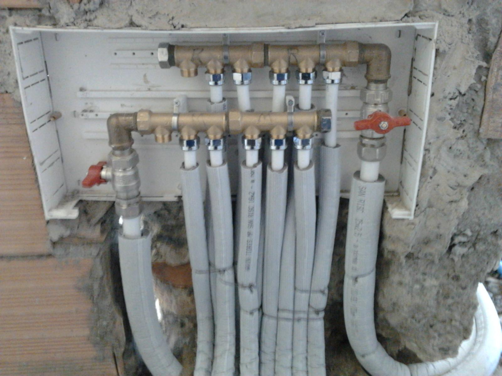 Il Blog dell'idraulico: collettore multistrato