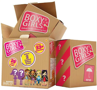 Коробки Boxy Girls