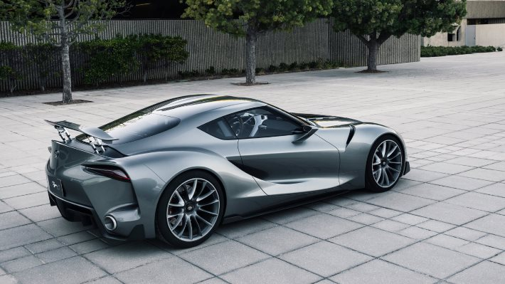 Wallpaper 2: Toyota FT-1 Sports Car Concept