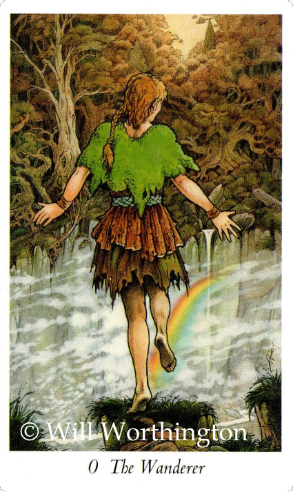 Wildwood Tarot,The Wanderer, The Fool