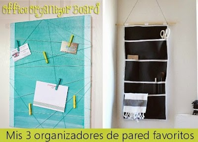 Organizadores de pared originales