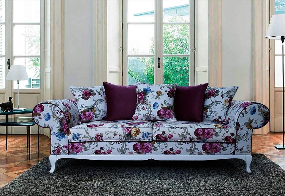 Modern flower pattern sofa - Home Decor