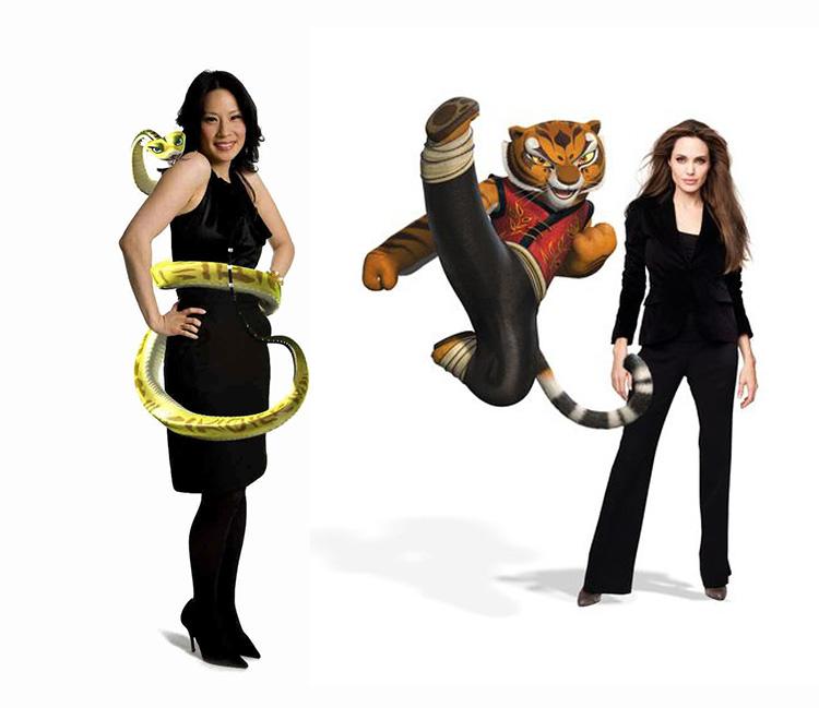 Have you scene the rea... Kung Fu Panda Po And Shifu
