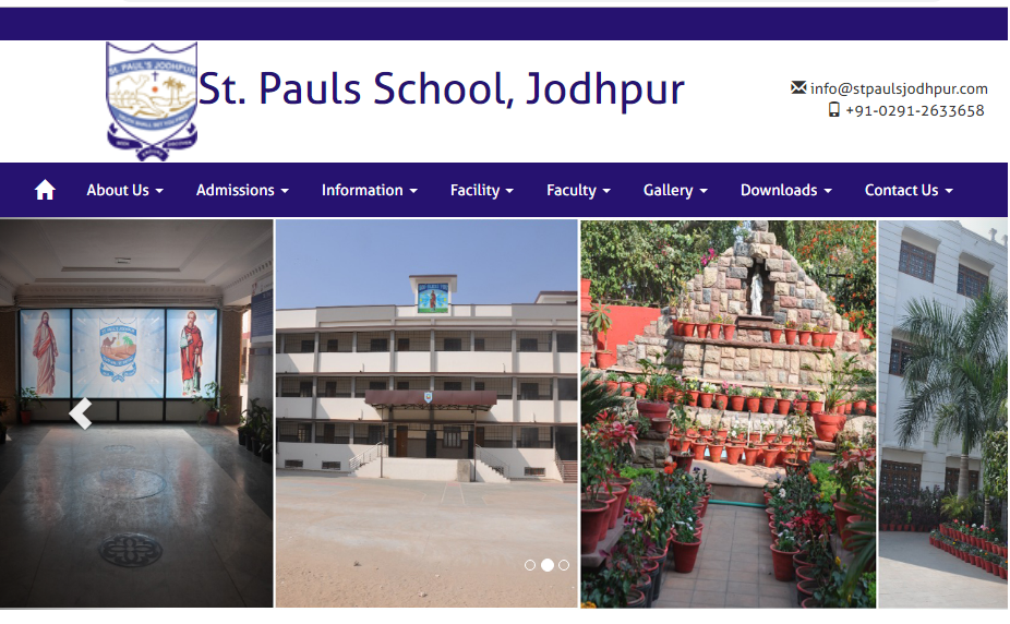 St. Paul's Senior Secondary School, Jodhpur