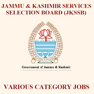 Jammu & Kashmir Services Selection Board, JKSSB, Jammu & Kashmir, Food Safety Officer, Junior Assistant, Graduation, freejobalert, Sarkari Naukri, Latest Jobs, jkssb logo