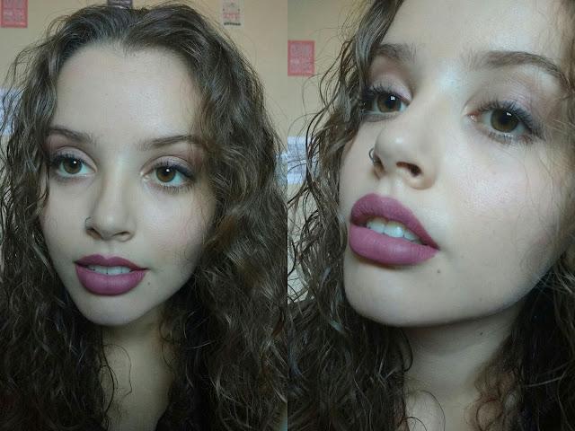 resultado do passo a passo maquiagem simples para o dia a dia