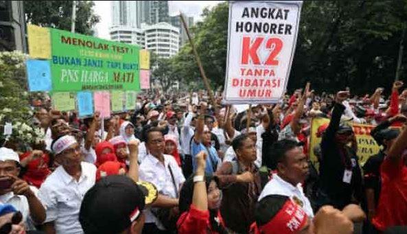 Syarat Pengangkatan CPNS Honorer K2 Juli 2018 Berdasarkan Hasil Rapat Gabungan DPR Dan Pemerintah
