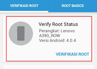 mengetahui hp Android yang sudah di root