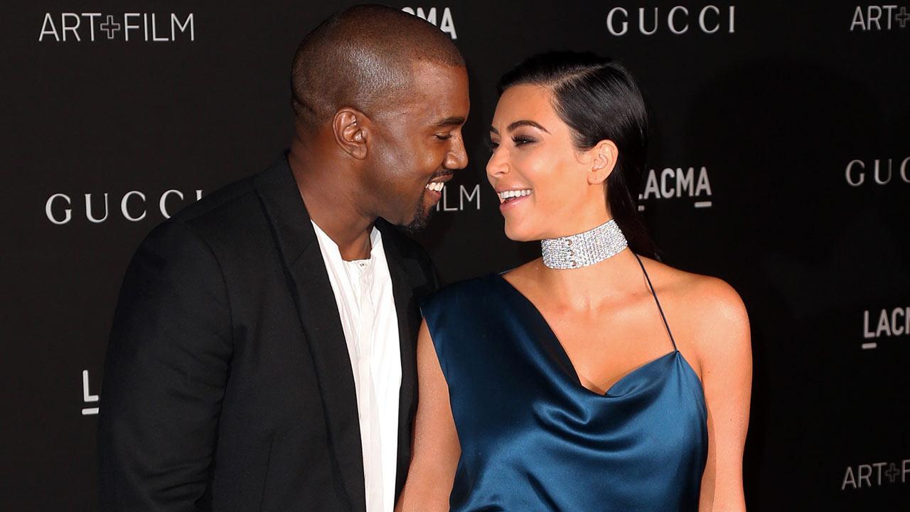 West kanye hearts kim kardashian exclusive photo