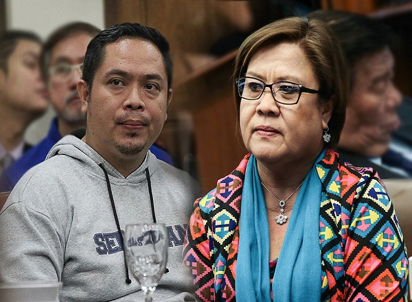 Jaybee Sebastian files graft, criminal raps vs. De Lima, two others