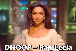 DHOOP – RamLeela - Shreya Ghoshal