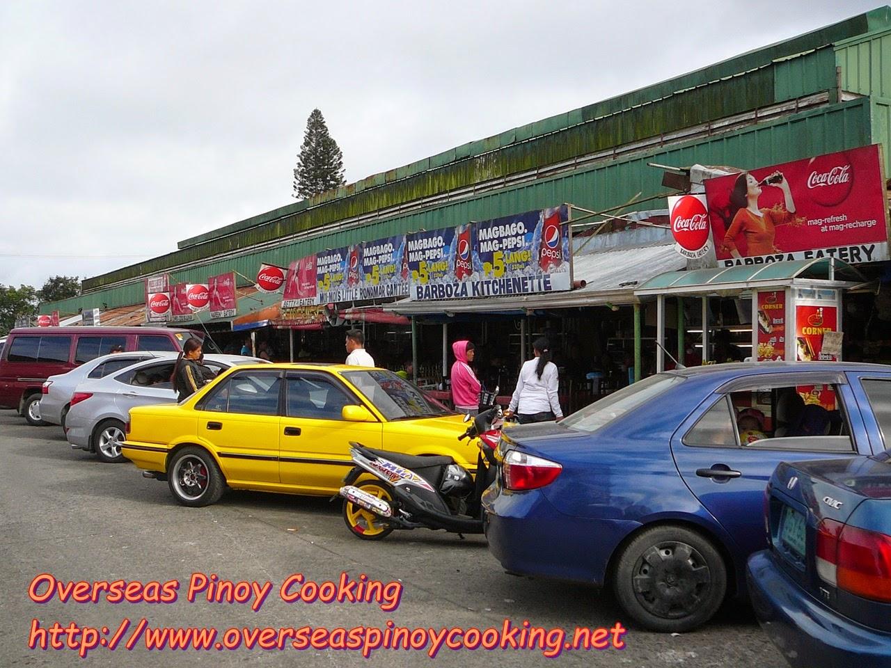 Mahogany Market Bulalo Stalls/Carinderia