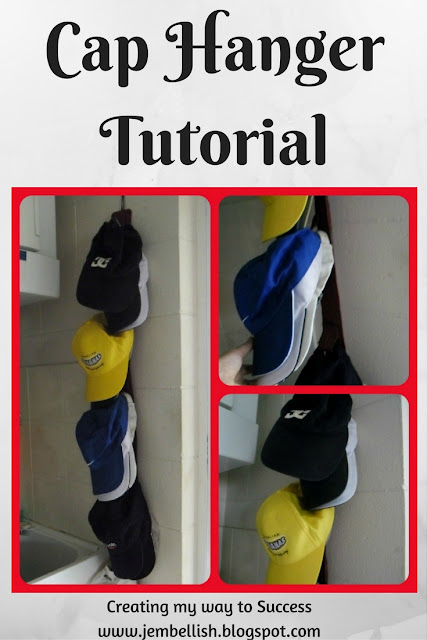 Cap Hanger Tutorial