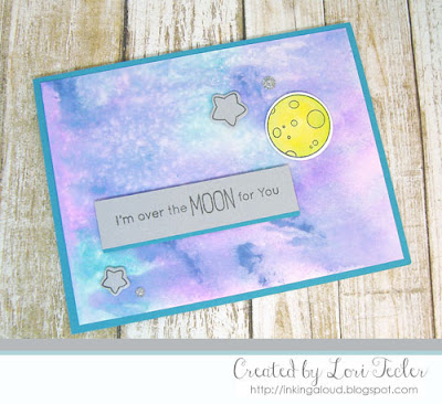 Over the Moon card-designed by Lori Tecler/Inking Aloud-stamps and dies from My Favorite Things