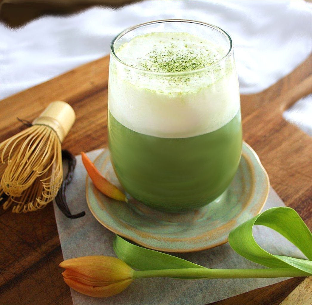 Vanilla Bean Matcha Latte
