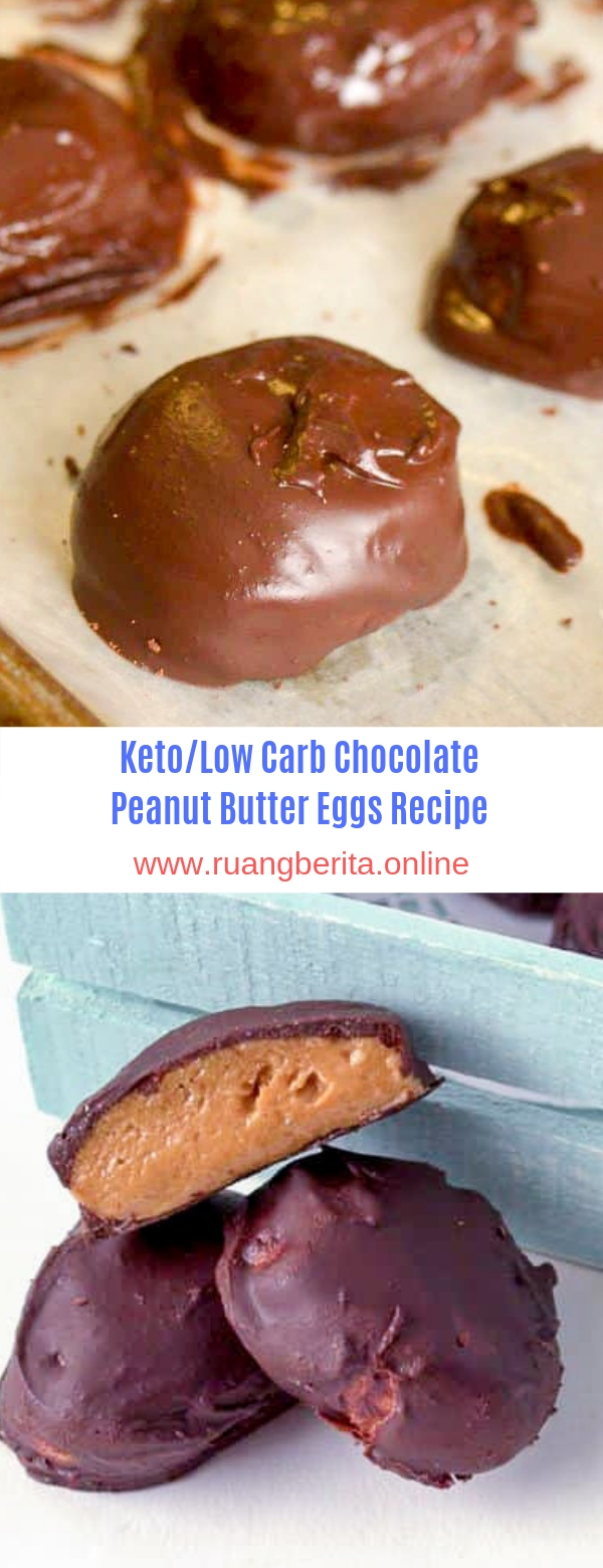 Keto/Low Carb-Chocolate Peanut Butter Eggs Recipe