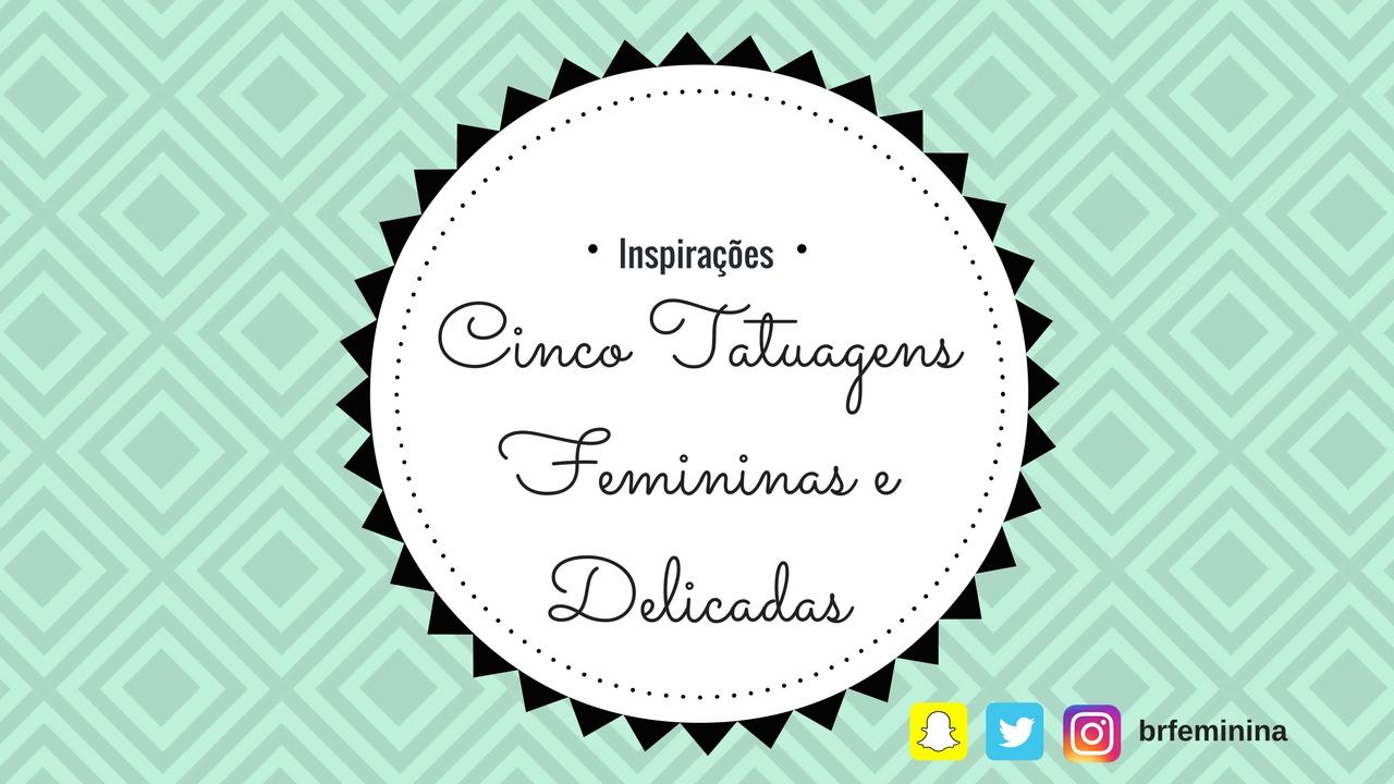 tattoos femininas pequenas