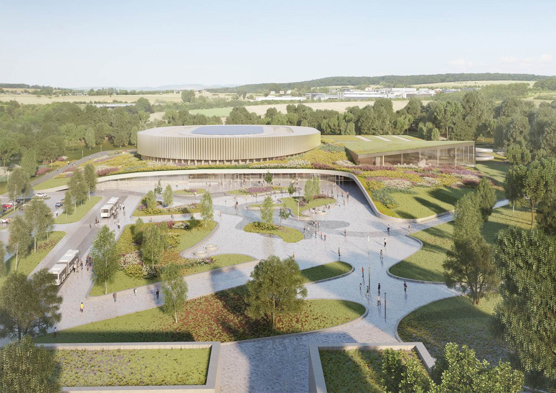progetto velodromo lussemburgo