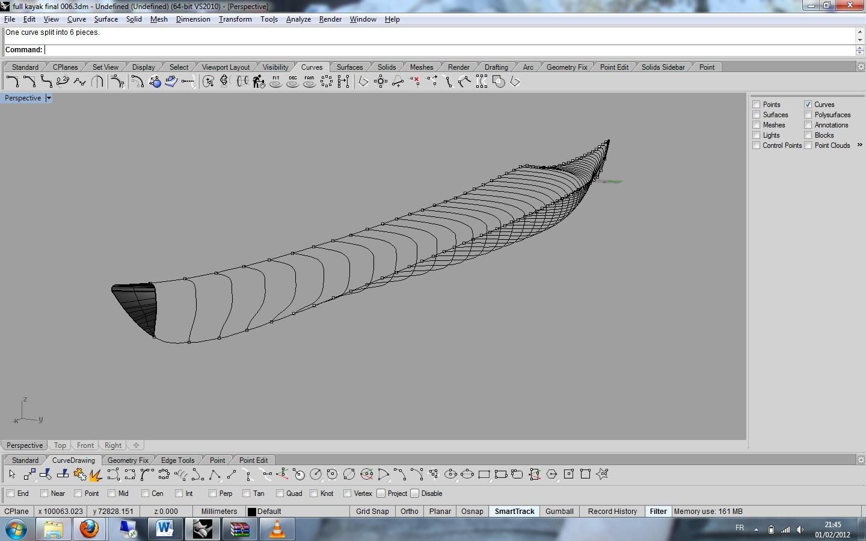 conception  u0026 fabrication kayak de mer composite