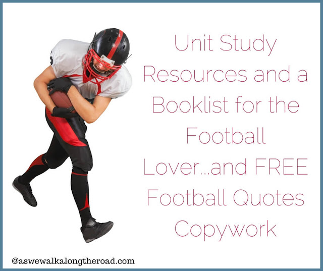 Football unit study resources