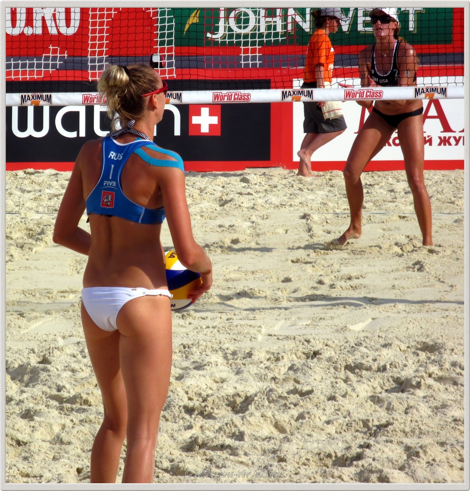 Beach Volleyball  Player Ekaterina Khomyakova