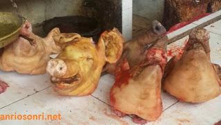 Babi - Pasar Ekstrim Tomohon