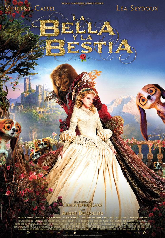 La Bella Y La Bestia De Disney Blog Póster Español De La