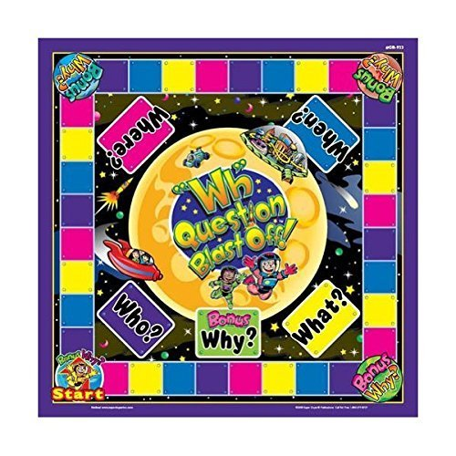 WH question blast off game