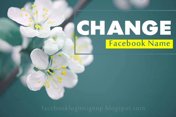 Facebook Wants Me To Change My Name