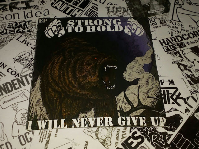 Album Review : Strong To Hold - I Will Never Give Up ( 2017 )