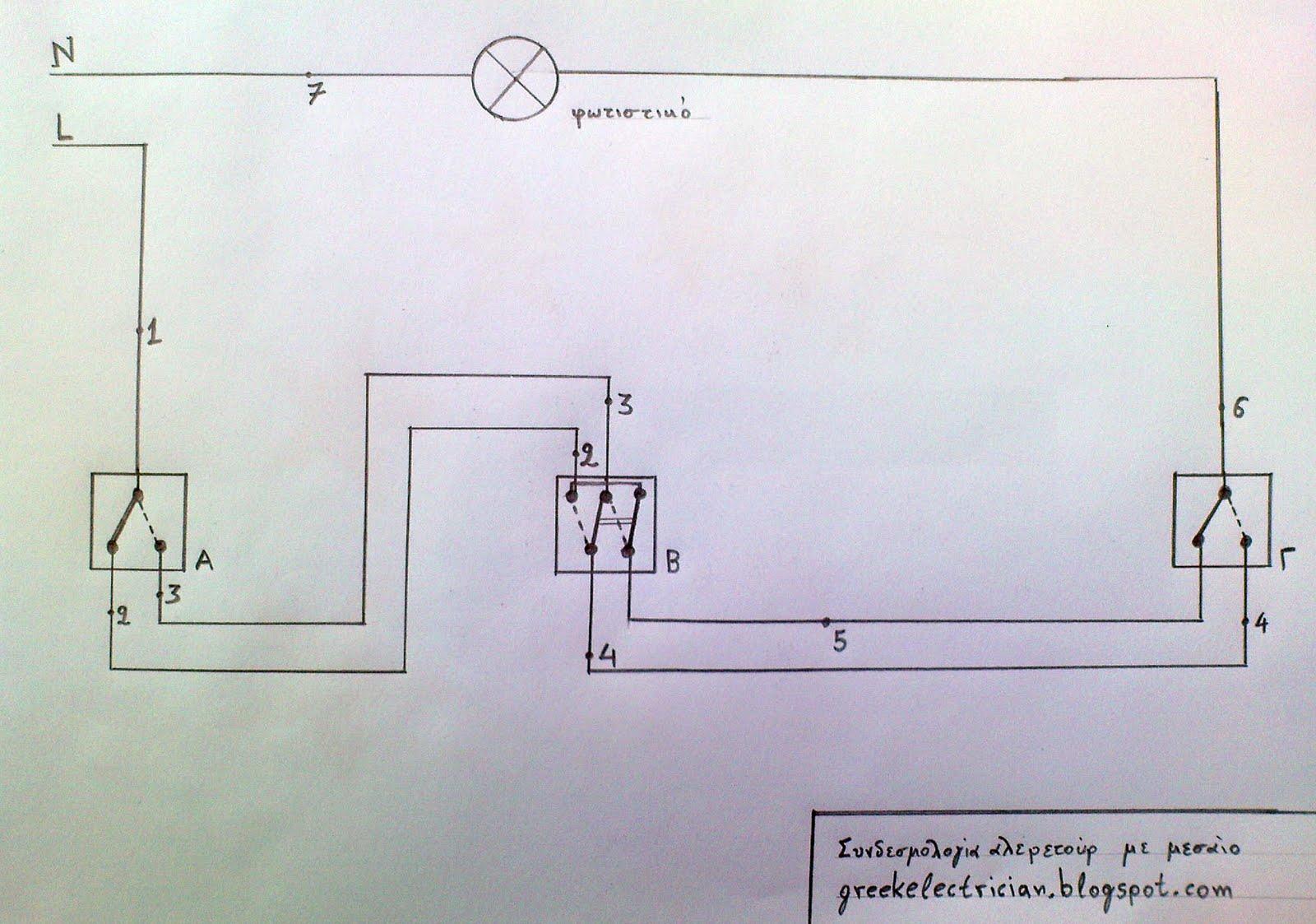 Πώς να συνδέσετε ένα διακόπτη φωτισμού