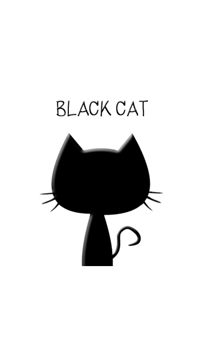 Cat In Black