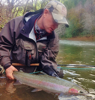 Rob Crandall Steelhead Fishing