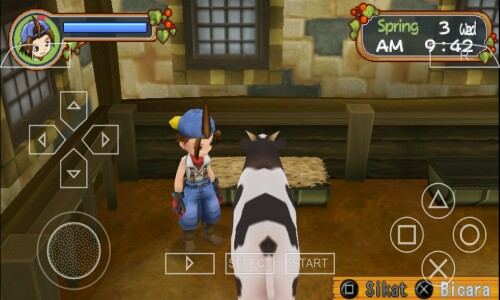 Cara Bermain Harvest Moon Hero Of Leaf Valley Di Android Menggunakan PPSSPP