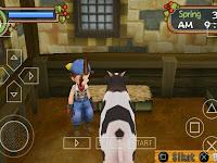 Cara Bermain Harvest Moon Hero Of Leaf Valley Di Android Menggunakan PPSSPP