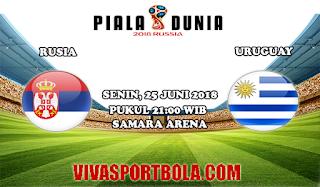 Prediksi Bola Rusia vs Uruguay 25 Juni 2018