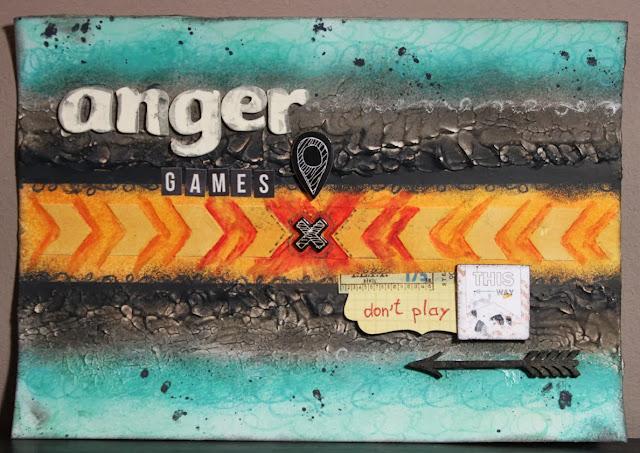 Art journal Anger game
