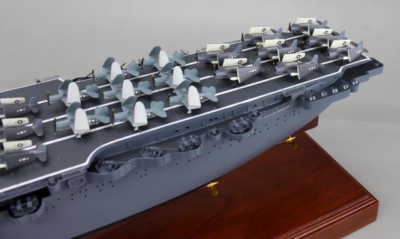 Aircraft Carrier Model - USS Saratoga (CV-3) | SD Model Makers