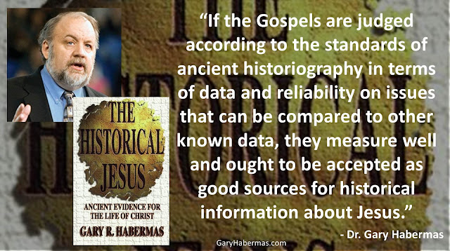 "Quote from Gary Habermas from his book ""The Historical Jesus: Ancient Evidence For The Life of Christ""- ""If the Gospels are judged according to the standards of ancient historiography in terms of data and reliability on issues that can be compared to other known data, they measure well and ought to be accepted as good sources for historical information about Jesus."" #History #Jesus #Christianity #Evidence #Religion #God"