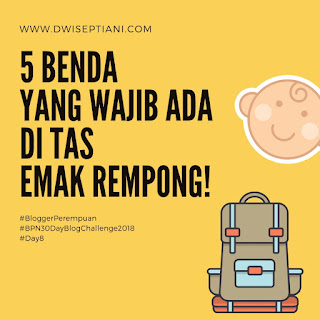 perlengkapan yang harus dibawa saat bepergian bersama anak